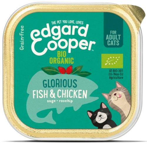 Terrina Edgard & Cooper Frango e Peixe Bio para gatos