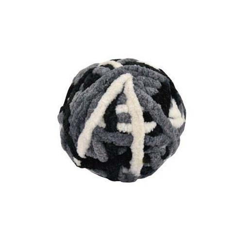 Bola de lã cinzenta para gatos