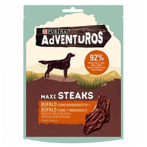 Snacks Purina Adventuros Maxi Steaks Búfalo