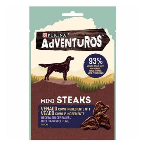 Snacks Purina Adventuros Mini Steaks Veado