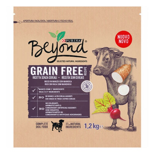 Ração Purina Beyond Grain Free boi