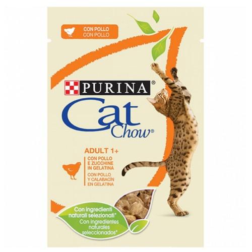 Purina Cat Chow frango em gelatina para gatos