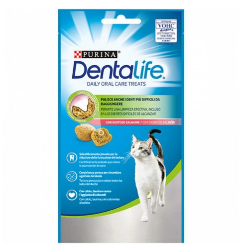 Purina Dentalife Daily Oral Care sabor salmão