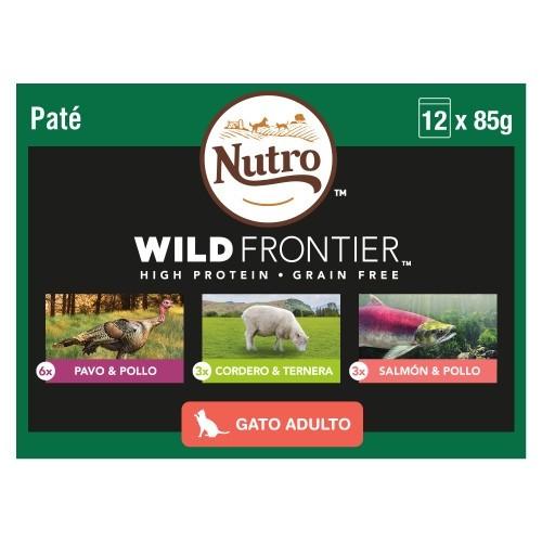 Multipack Patê Nutro Wild Frontier para gatos