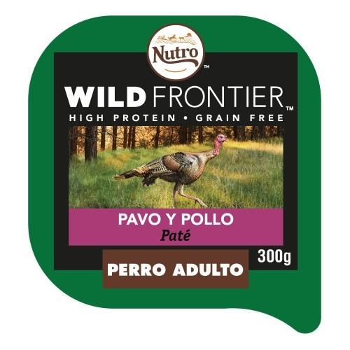Patê Nutro Wild Frontier peru e frango para cães