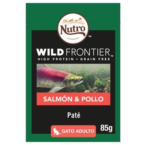 Patê Nutro Wild Frontier salmão e frango para gatos