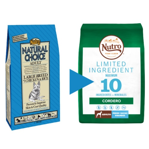 Nutro Limited Ingredient Cordeiro para cães grandes
