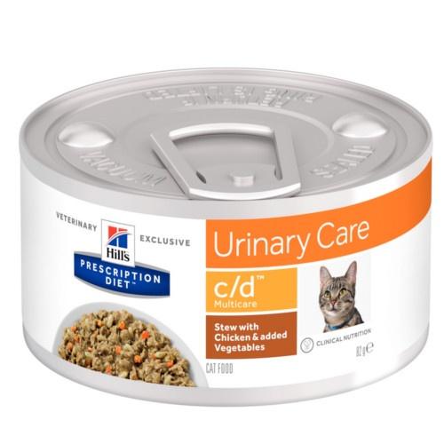Hill's Urinary Care c/d Estufado para gatos
