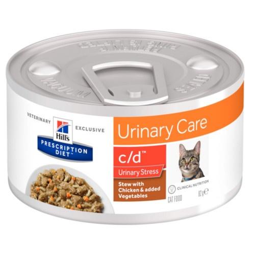 Hill's Urinary Care c/d Stress Estufado para gatos