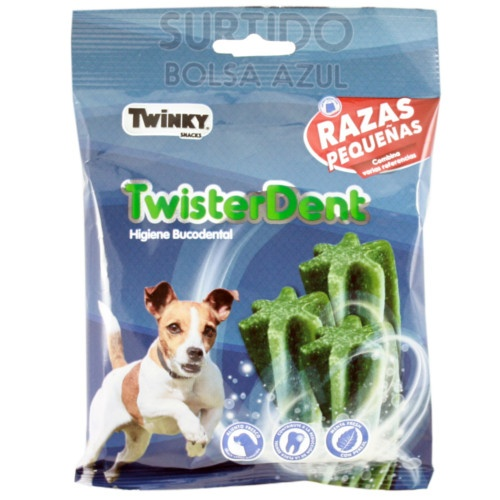 Twister Dent Twinky para cães pequenos