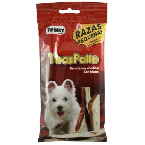 Barritas de Frango Twinky para cães pequenos