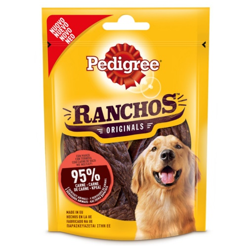 Pedigree Ranchos Originals de carne de vaca
