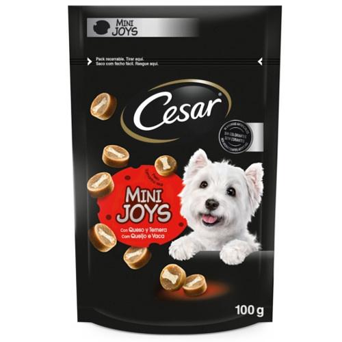 Snacks Cesar Mini Joys com queijo e vitela
