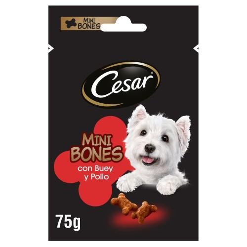 Snacks Cesar Mini Bones com vitela e frango