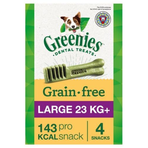 Osso Greenies Grain Free Large raças grandes