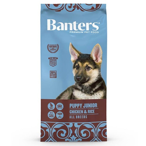 Ração Banters Puppy Frango para cachorros
