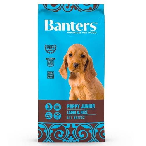 Ração Banters Puppy Cordeiro para cachorros
