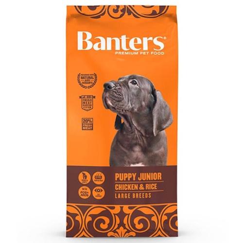Ração Banters Puppy Cordeiro Raças grandes