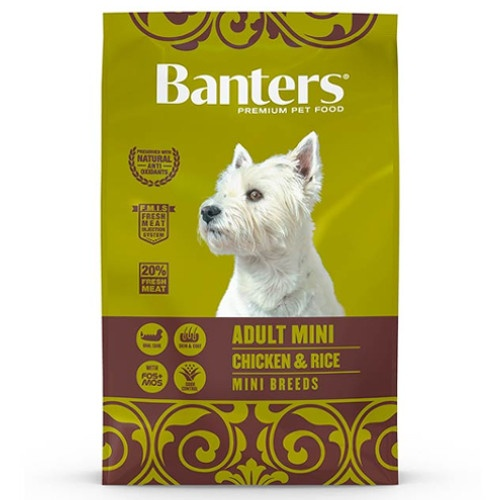 Ração Banters Adult Mini Frango para cães