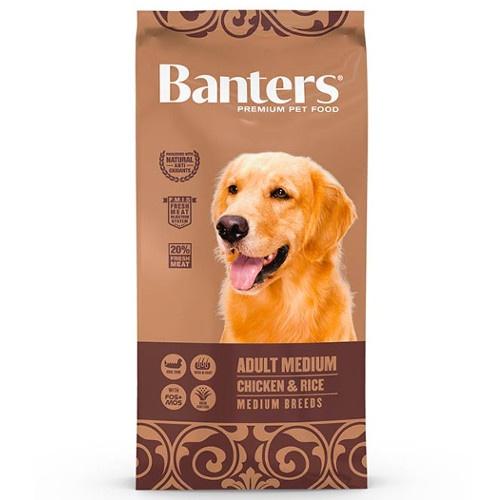 Ração Banters Adult Medium Frango para cães