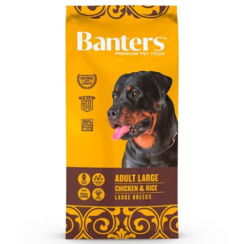 Ração Banters Adult Large Frango para cães