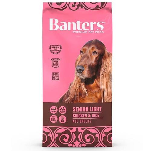 Ração Banters Senior Light Frango para cães