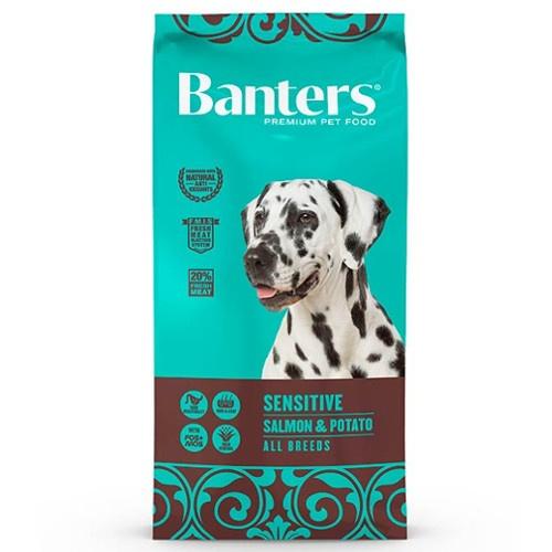 Ração Banters Sensitive Salmão para cães