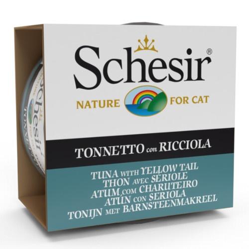 Comida húmida Schesir atum com charuteiro