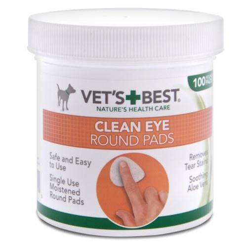 Dedeira para olhos Vet's Best Clean Eye
