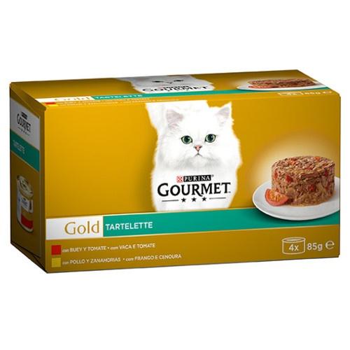 Pack Gourmet Gold Tartelette boi e frango