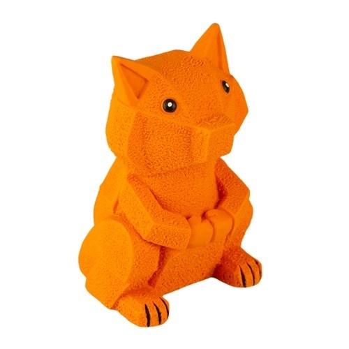 Brinquedo de látex TK-Pet Raposa origami