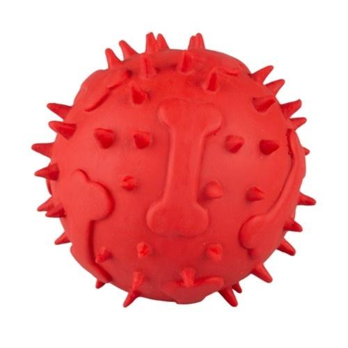 Brinquedo de látex TK-Pet Bola ouriço