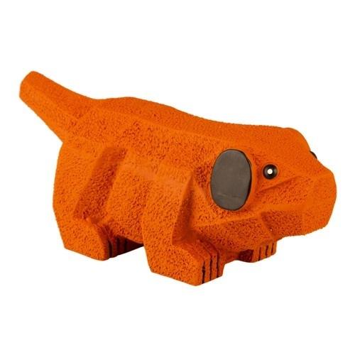 Brinquedo de látex TK-Pet Cão origami