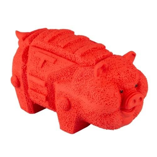 Brinquedo de látex TK-Pet Porco origami