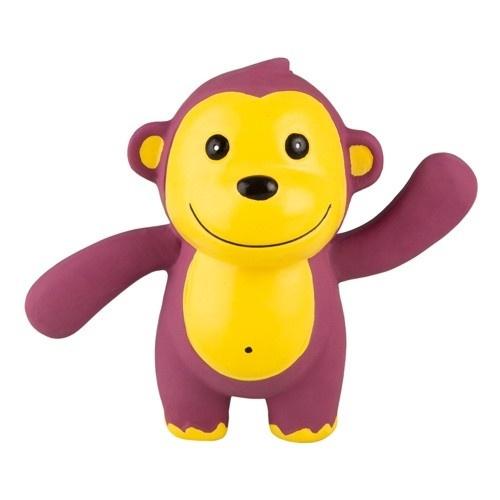 Brinquedo de látex TK-Pet Macaco feliz