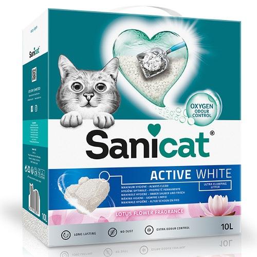Sanicat Active White areia aglomerante