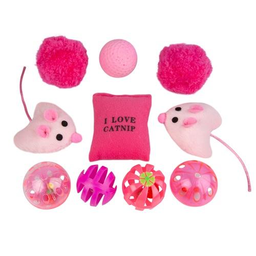 Pack de brinquedos para gatos TK-Pet Pucho