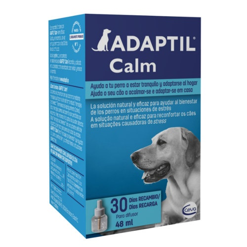Feromona Tranquilizadora Canina Adaptil, recarga