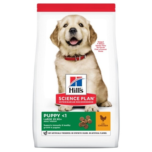 Hill's Canine Puppy Healthy Development Large breed Frango