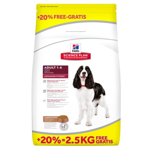 Hill's Canine Adult Advance Fitness Cordeiro e Arroz