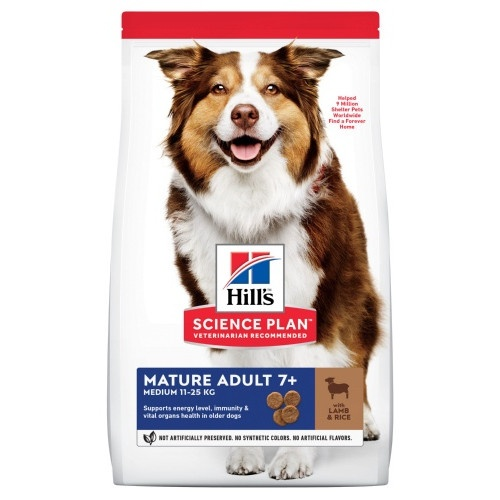 Hill's Canine Senior Cordeiro e Arroz