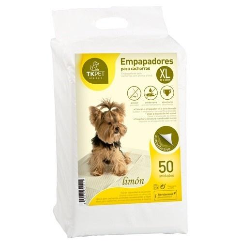 Resguardos para cachorros XL TK-Pet limão