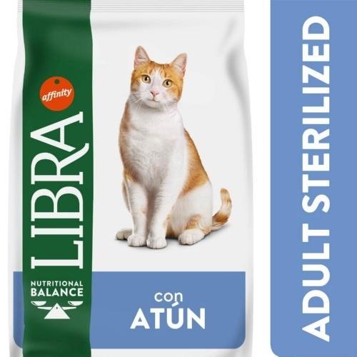 Libra Adult Sterilized com Atum para gatos
