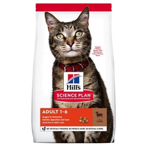 Hill's Feline Adult Cordeiro