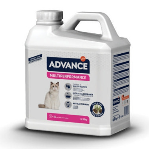Areia Aglomerante para Gatos Advance Multiperformance