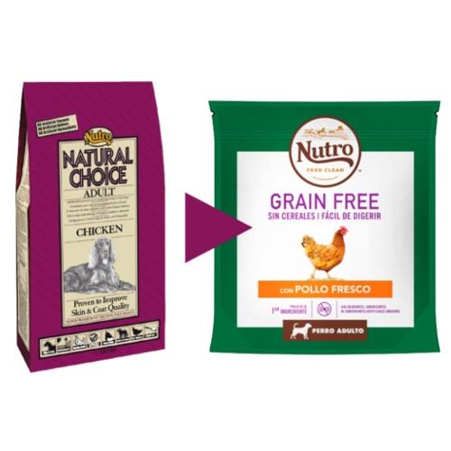 Nutro Grain Free com frango para cães médios