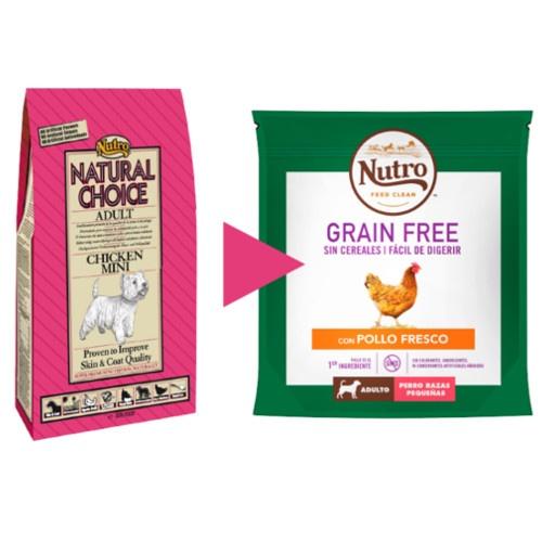 Nutro Grain Free com frango para cães pequenos