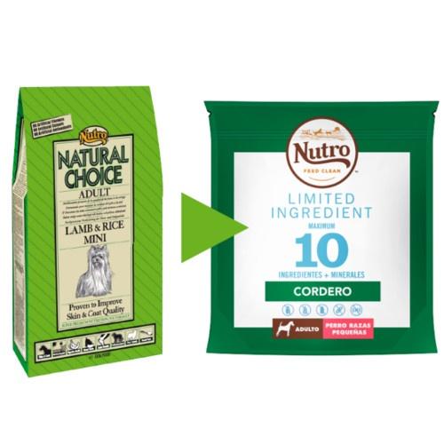 Nutro Limited Ingredient Cordeiro para cães pequenos