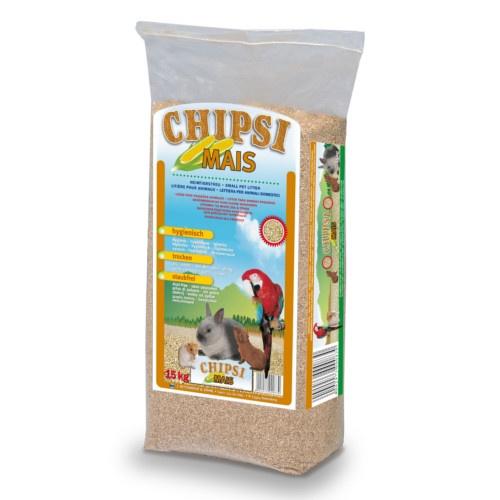 Leito higiénico de milho para pequenas mascotes e aves