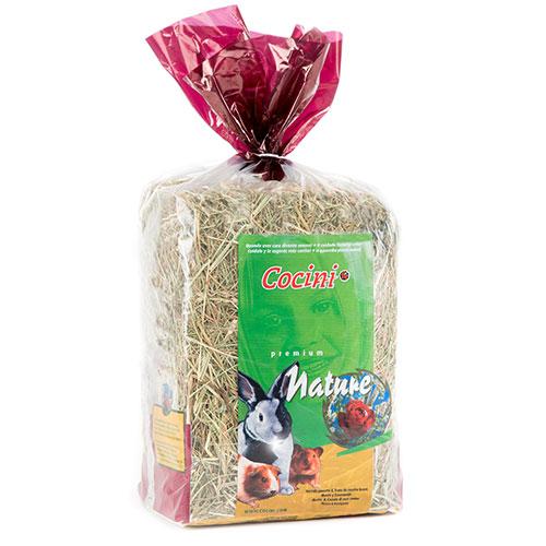 Feno premium com ervas naturais para pequenos reodores